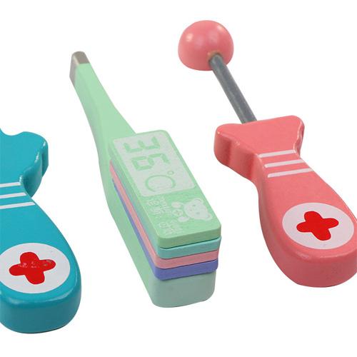 Деревянная игрушка Набор доктора DX-512