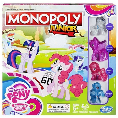 Настольная игра Monopoly junior My Little Pony 4003