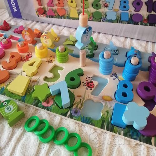 Деревянная игрушка Развивающий центр WD2731