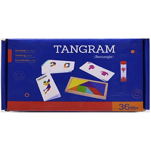 Деревянная игрушка Танграм MD 2818