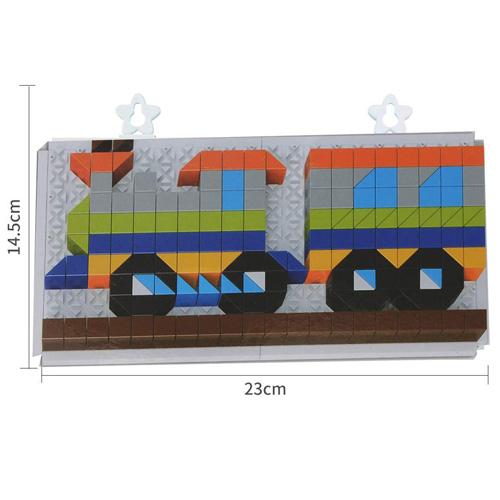 Мозаика Транспорт 240 элементов 6606-6