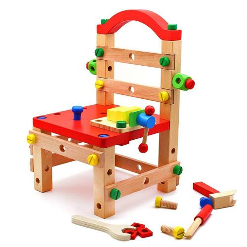 Деревянный стульчик конструктор B24488