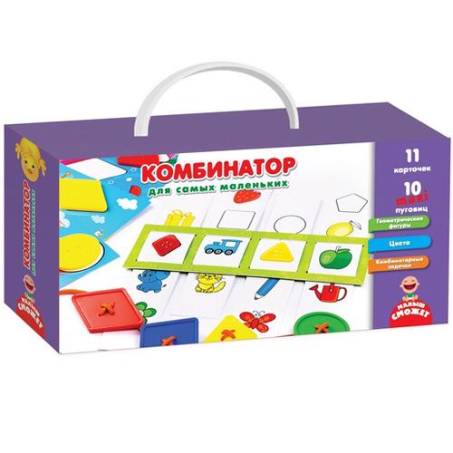 Игра с пуговицами Комбинатор для самых маленьких VT2905-05