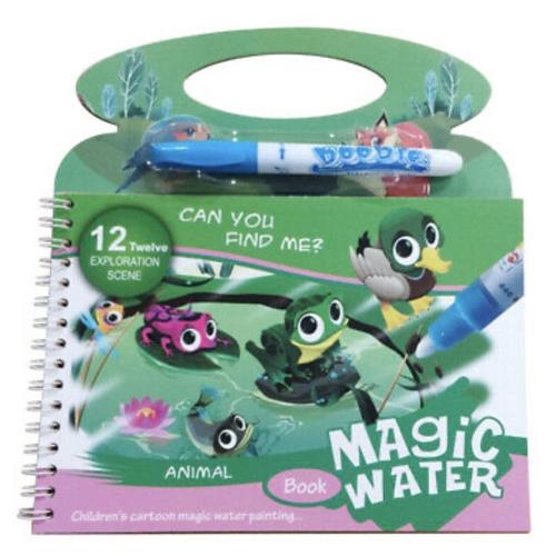 Водная раскраска Magic Water BH3
