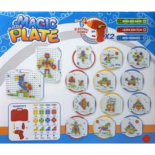 Болтовая мозаика Magic Plate