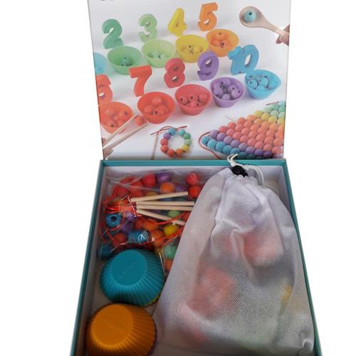 Деревянная игрушка Color and number cognition