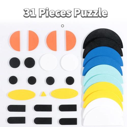 Деревянная игрушка 3D пазлы 2305-61