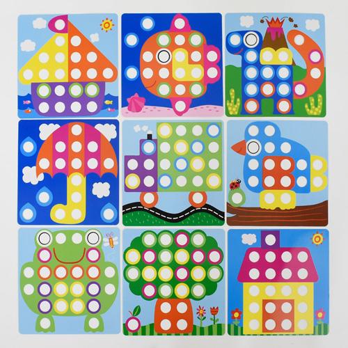 Мозаика Цветная фантазия FUN GAME 7033