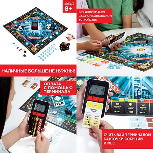 Настольная игра Монополия: Банк без границ 4007