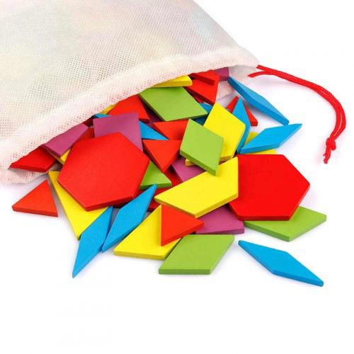 Деревянная игрушка Танграм MD 2786