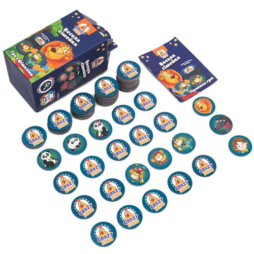Игра с фишками Веселая семейка VT8033-05/06