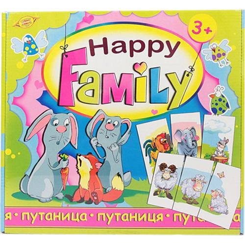 Настольная игра HAPPY FAMILY Путаница МКБ0140