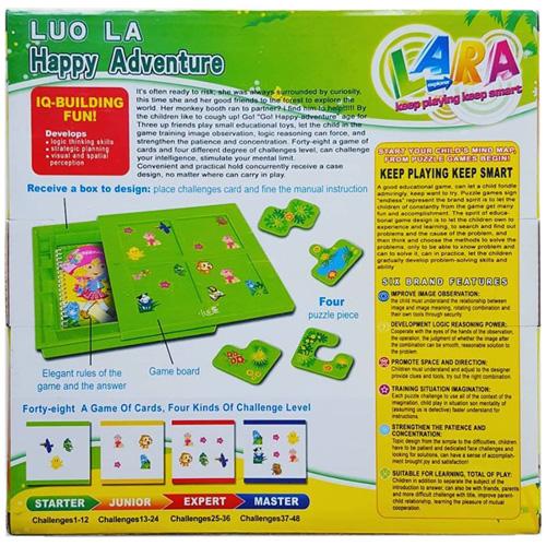 Настольная игра Luo La Happy Adventure