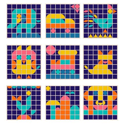 Деревянная игрушка Mosaic Variety Board 2305-57