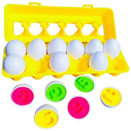 Игра головоломка Matching Eggs Цифры
