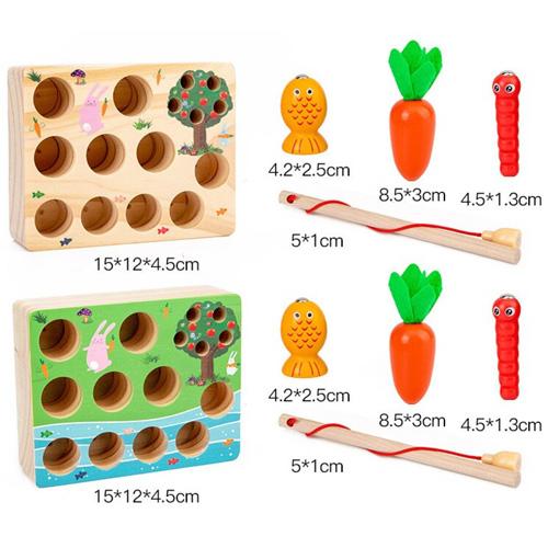 Деревянная игрушка Монтессори BWL-449
